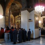 Mass at the cathedral of Echmiadzin, the central authority of the Armenian Orthodox Church